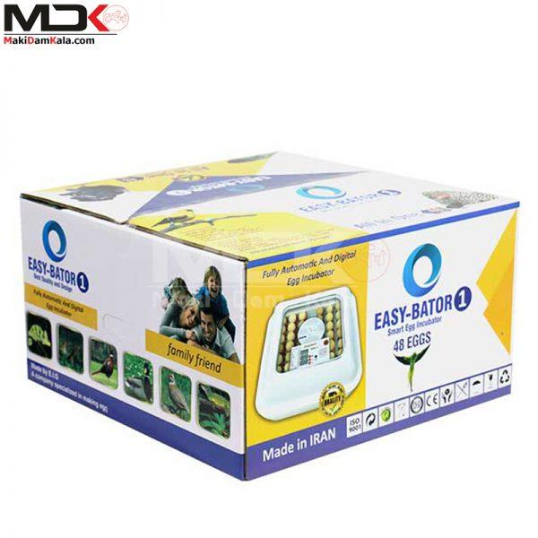 جعبه دستگاه جوجه کشی خانگی 48 عددی ایزی باتور 1