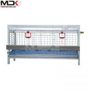 قفس مرغ خانگی یک طبقه تمام گالوانیزه ضد زنگ